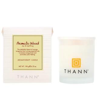 タン(THANN)の【THANN】Aromatic Woodキャンドル(キャンドル)