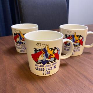 ユニバーサルスタジオジャパン(USJ)のUSJウッドペッカー グランドオープン マグカップ(グラス/カップ)