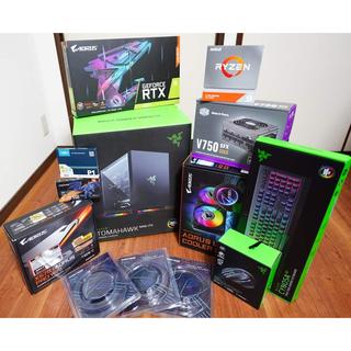 超美品 ハイエンド自作PC 3950X, 64GB ,RTX3070,1TB