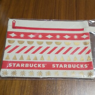 Starbucks Coffee - スターバックス ホリデー ポーチ 2020 レッド