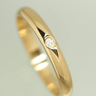 Cartier - Cartier カルティエ ダイヤ ウェディングリング イエローゴールド 750