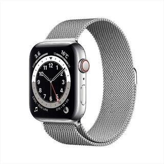 アップルウォッチ(Apple Watch)の【40mm / GPS + Cellularモデル】Apple Watch 6(腕時計(デジタル))