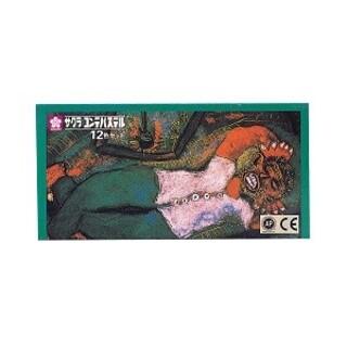 サクラクレパス(サクラクレパス)のサクラコンテパステル12色セット(クレヨン/パステル)