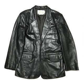 JOHN LAWRENCE SULLIVAN - 80-90s VINTAGE ENGLAND LAMB Leather JK