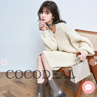 COCO DEAL - COCODEAL❤️新作ワンピ アイボリー