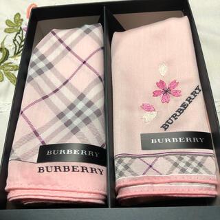 BURBERRY - 🌸バーバリー ハンカチ2枚 新品🌸