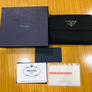 PRADA - prada 折りたたみ財布
