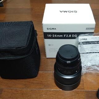SIGMA - SIGMA 14-24 f2.8 DG Artレンズ Canon efマウント