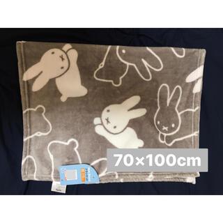 しまむら - ミッフィー miffy ブランケット ひざかけ しまむら こうさぎ 毛布