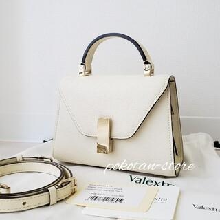 Valextra - 極美品【ヴァレクストラ】イジィデ マイクロ トップハンドル ハンドバッグ