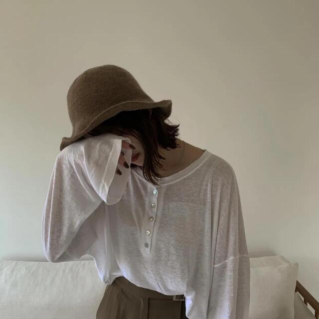 TODAYFUL(トゥデイフル)のAmiur  soft knit hat レディースの帽子(ハット)の商品写真