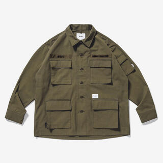 W)taps - 新品 Wtaps Jungle LS Olive Drab S 20AW