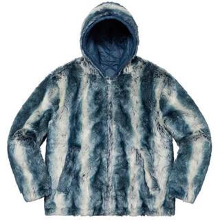 Supreme - Lサイズ supreme Faux Fur Reversible Hooded