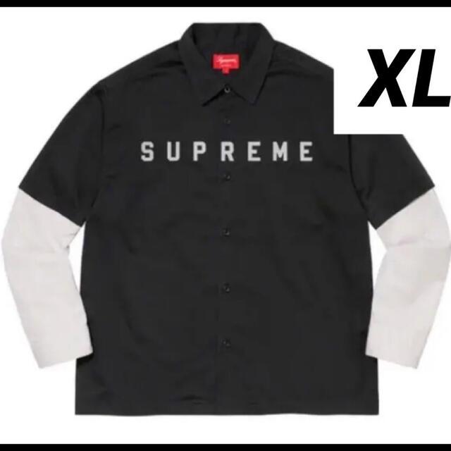 Supreme(シュプリーム)のSupreme 2-Tone Work shirt サイズXL メンズのトップス(シャツ)の商品写真