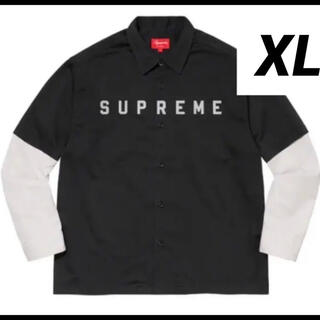 Supreme - Supreme 2-Tone Work shirt サイズXL