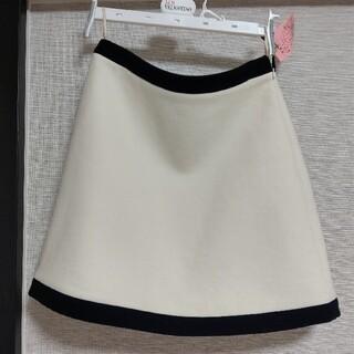 miumiu - miu miu ホワイトミニスカート
