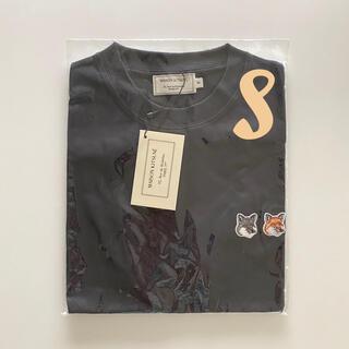 MAISON KITSUNE' - 【おまけ付!即日発送】新品 メゾンキツネ Tシャツ ダブルフォックス ブラックS