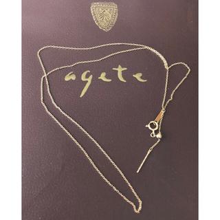 agete - agete  K10  ネックレス