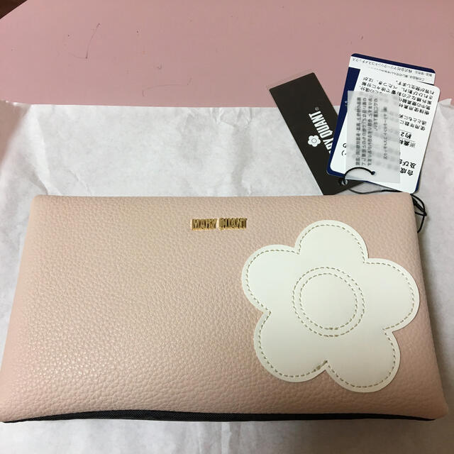 MARY QUANT(マリークワント)のマリークワント マスクポーチ ピンク新品 レディースのファッション小物(ポーチ)の商品写真