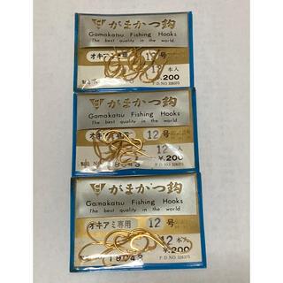 ガマカツ(がまかつ)のがまかつ製 オキアミ専用 12号 3袋セット(釣り糸/ライン)