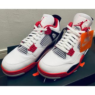 NIKE - Nike Air Jordan エアジョーダン 4 Retro Fire Red