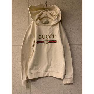 Gucci - GUCCI グッチ チルドレン キッズ スウェットパーカー クリーム色 10歳