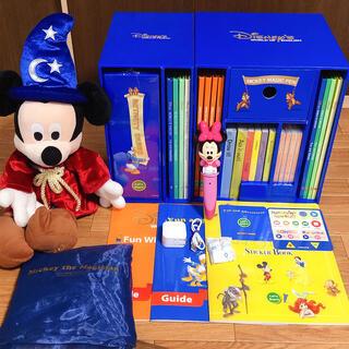 Disney - 未開封多数  新型 DWEディズニー英語システム マジックペンセット