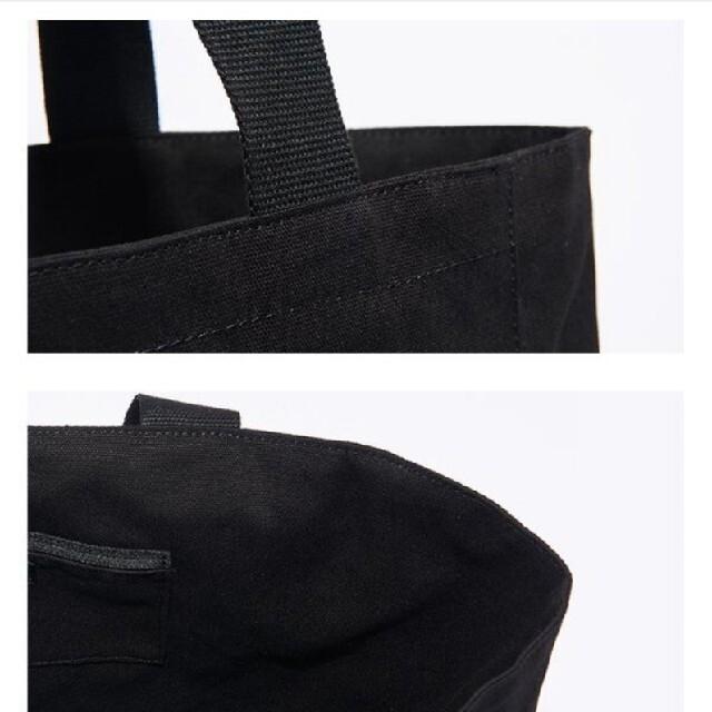 agnes b.(アニエスベー)のアニエスベー トートバッグ Lサイズ黒 新品未開封 レディースのバッグ(トートバッグ)の商品写真