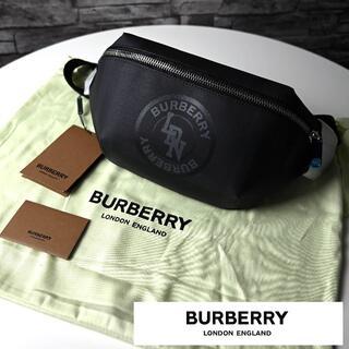 BURBERRY - 新品 BURBERRY モノグラムプリント Eキャンバス メッセンジャーバッグ
