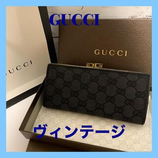 Gucci - GUCCI 長財布 ヴィンテージ 正規品 がま口