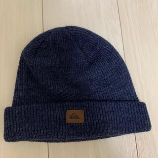 クイックシルバー(QUIKSILVER)のクイックシルバー ニット帽 美品(ニット帽/ビーニー)