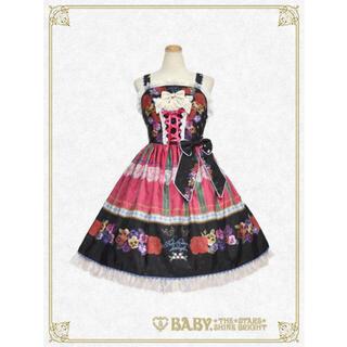 BABY,THE STARS SHINE BRIGHT - Polonaise Brillante乙女の思想ジャンパースカート 黒