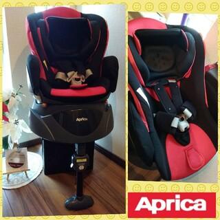 Aprica - 46✨美品✨アップリカ フラディア ディアターン✨回転式チャイルドシート✨レッド