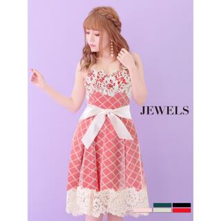 ジュエルズ(JEWELS)の新品タグ付き クリスマス ミニドレス(ミニドレス)
