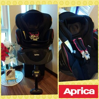Aprica - 48✨美品✨通気性抜群✨アップリカ フラディアブリーズ✨回転式チャイルドシート