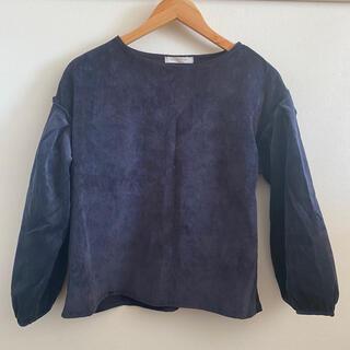 ショコラフィネローブ(chocol raffine robe)のコーデュロイトップス(カットソー(長袖/七分))