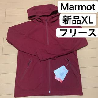 マーモット(MARMOT)の新品XL MARMOT マーモット  フリース ジャケットパーカー(登山用品)