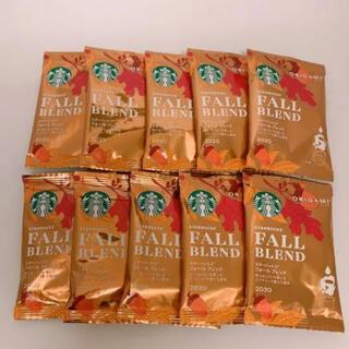 Starbucks Coffee - 新品 スターバックス オリガミ フォールブレンド 10個
