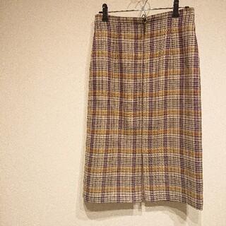 ラトータリテ(La TOTALITE)の✳美品✳ La TOTALITE バレンシアチェックジップタイトスカート(ひざ丈スカート)