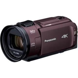 Panasonic - パナソニック HC-WX2M-T 4K ビデオカメラ  64GB内蔵メモリ