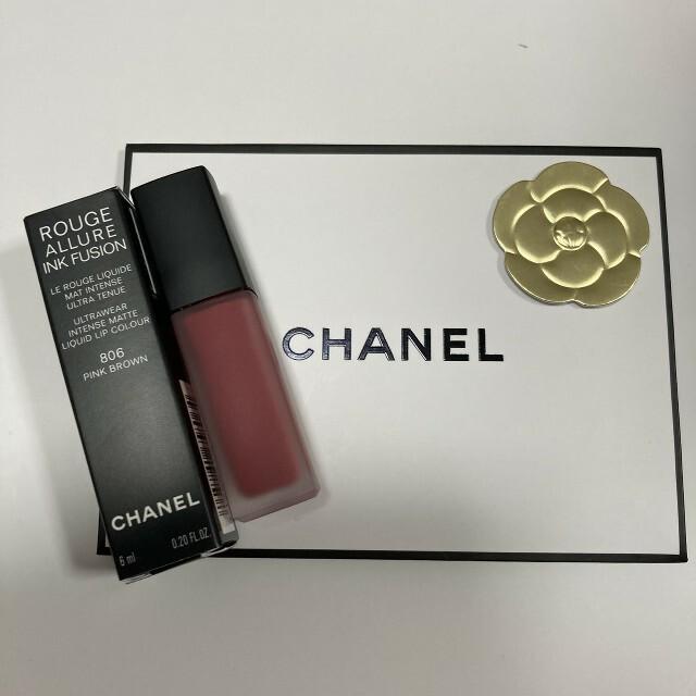 CHANEL(シャネル)のシャネル ルージュアリュールインクフュージョン806 新品 コスメ/美容のベースメイク/化粧品(口紅)の商品写真