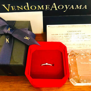 Vendome Aoyama - 美品 ♥︎ ヴァンドーム青山 ダイアモンド プラチナ リング 7号 クリスマス