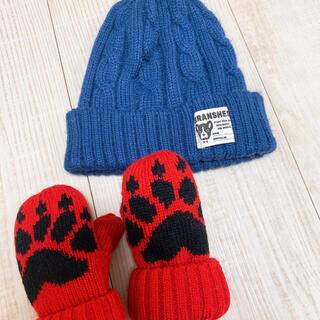 ブランシェス(Branshes)の手袋とニット帽(ニット帽/ビーニー)