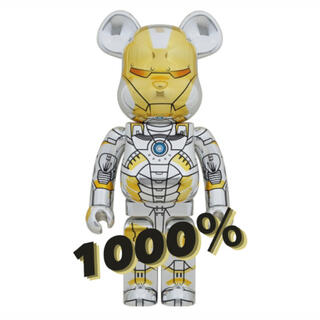 MEDICOM TOY - BE@RBRICK SORAYAMA IRONMAN 1000%