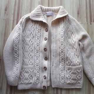 インバーアラン(INVERALLAN)のインバーアラン 手編みアランセーター(ニット/セーター)