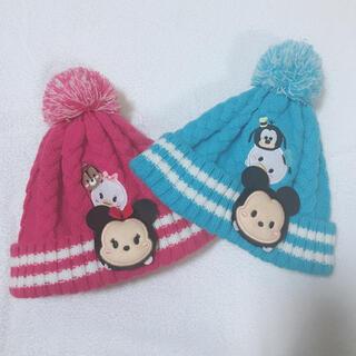 Disney - ニット帽☆ディズニー☆ツムツム☆子供用