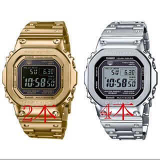 ジーショック(G-SHOCK)のGMW B5000D-1JF 4本 GMW-B5000GD-9JF 2本(腕時計(デジタル))