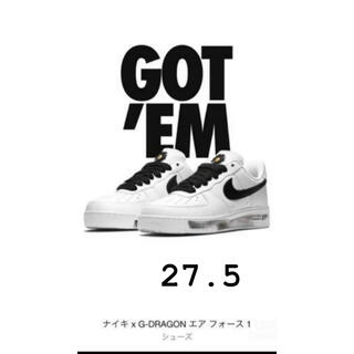 PEACEMINUSONE - NIKE×G-DRAGON AIR FORCE1PARANOISE 27.5cm