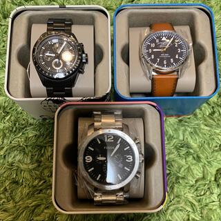 フォッシル(FOSSIL)の【新品未使用】★正規品★ fossil  腕時計 3本セット (腕時計(アナログ))