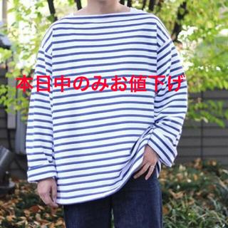 コモリ(COMOLI)のoutil バスクシャツ 2020AW 新品未使用 サイズ2(Tシャツ/カットソー(七分/長袖))